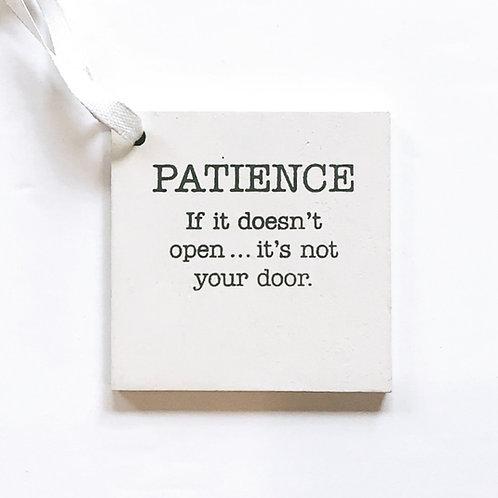 Pay It Forward Token - Patience
