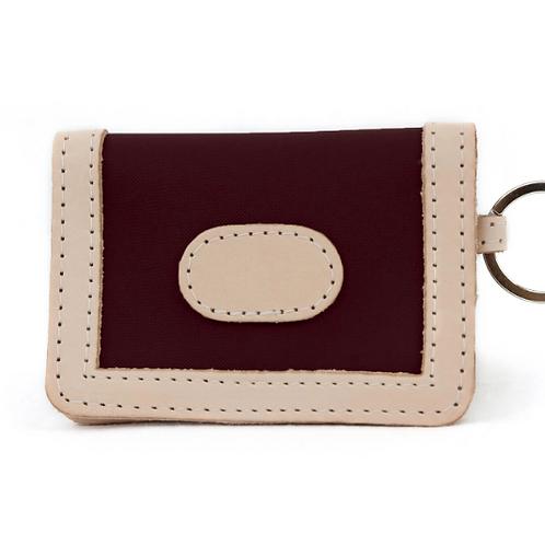 ID Wallet #454 - Burgundy