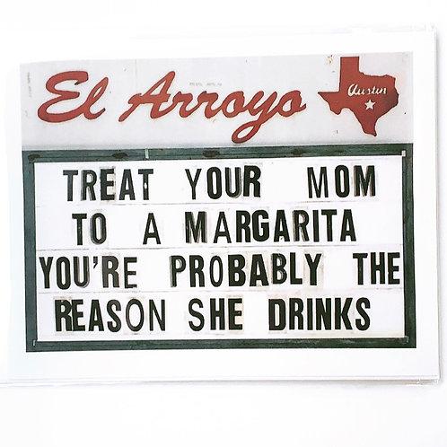 Reason She Drinks Card