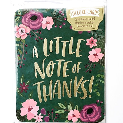Card - Note of Thanks