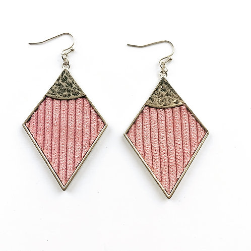 Velvet Diamond Drop Earrings