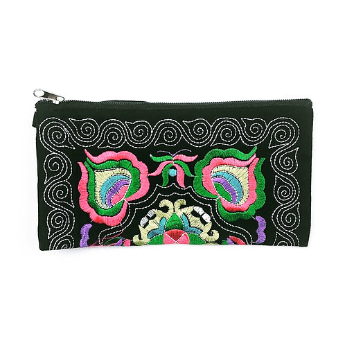 Fiesta Embroidered Pouch