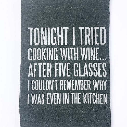 I Tired Cooking - Dishtowel