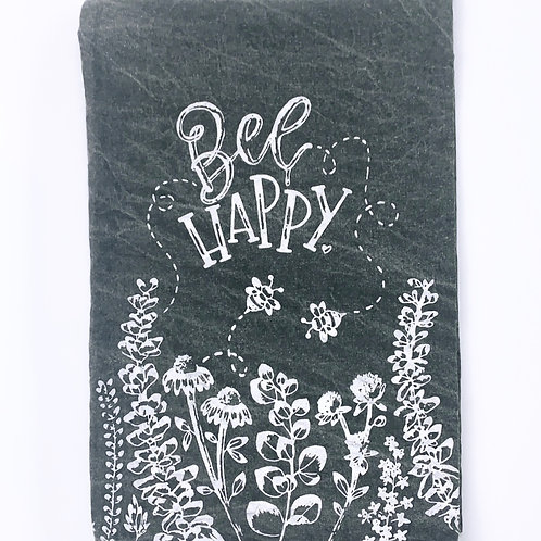 Bee Happy - Dishtowel
