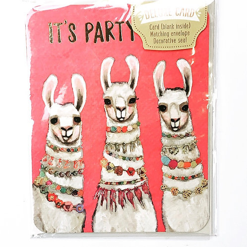 Llama Party Time