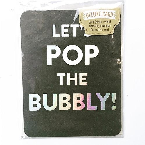 Celebrate - Pop Bubbly Card