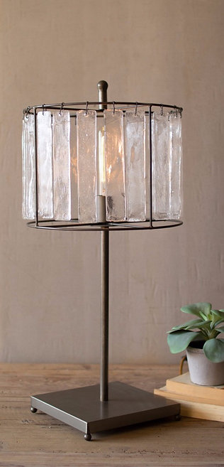 Glass Chime Lamp