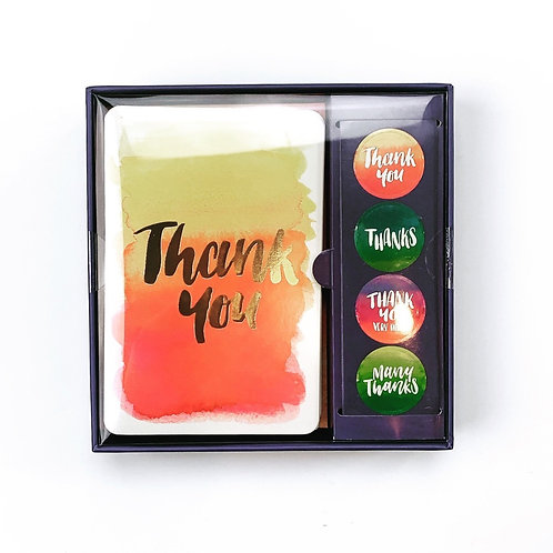 Thank You Boxed Card Set