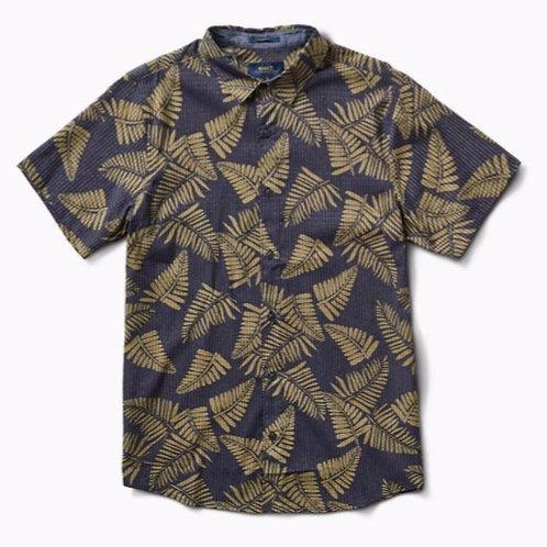 Bless Up Palm Shirt - Charcoal