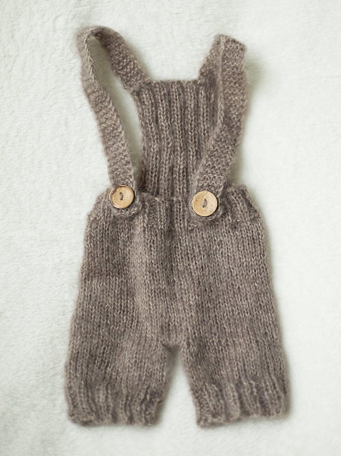 Brown Mohair Suspender Outfit