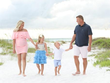Bahr Family Beach Portraits