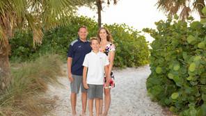 Coquina Beach Chance Family Beach Portriats