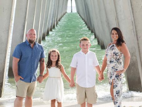 Pope Family Fun on Venice Beach