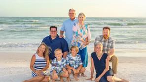 The Wegner Family Siesta Key Beach Portraits