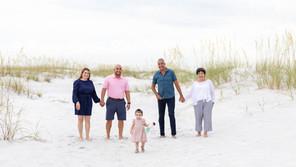 Bean Point Family Beach Portraits