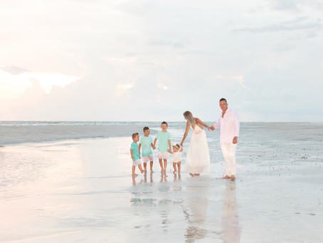 Merz Family Beach Portraits