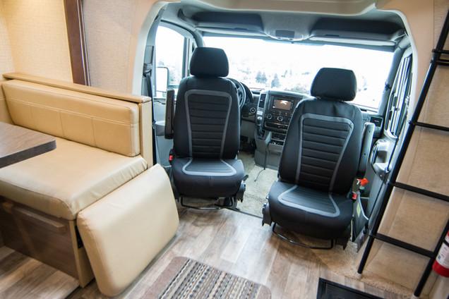Rotated Seats