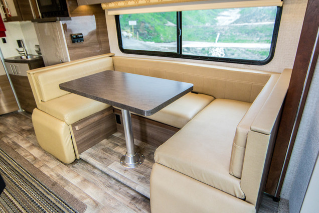 Dinette Which Converts Into a Queen Bed