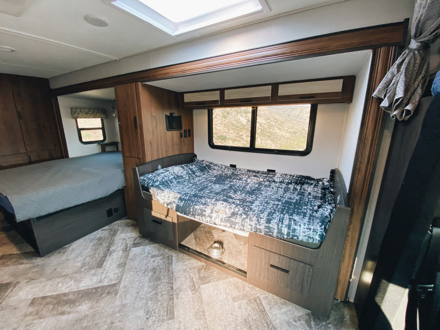 Dinette Converted Into A Bed