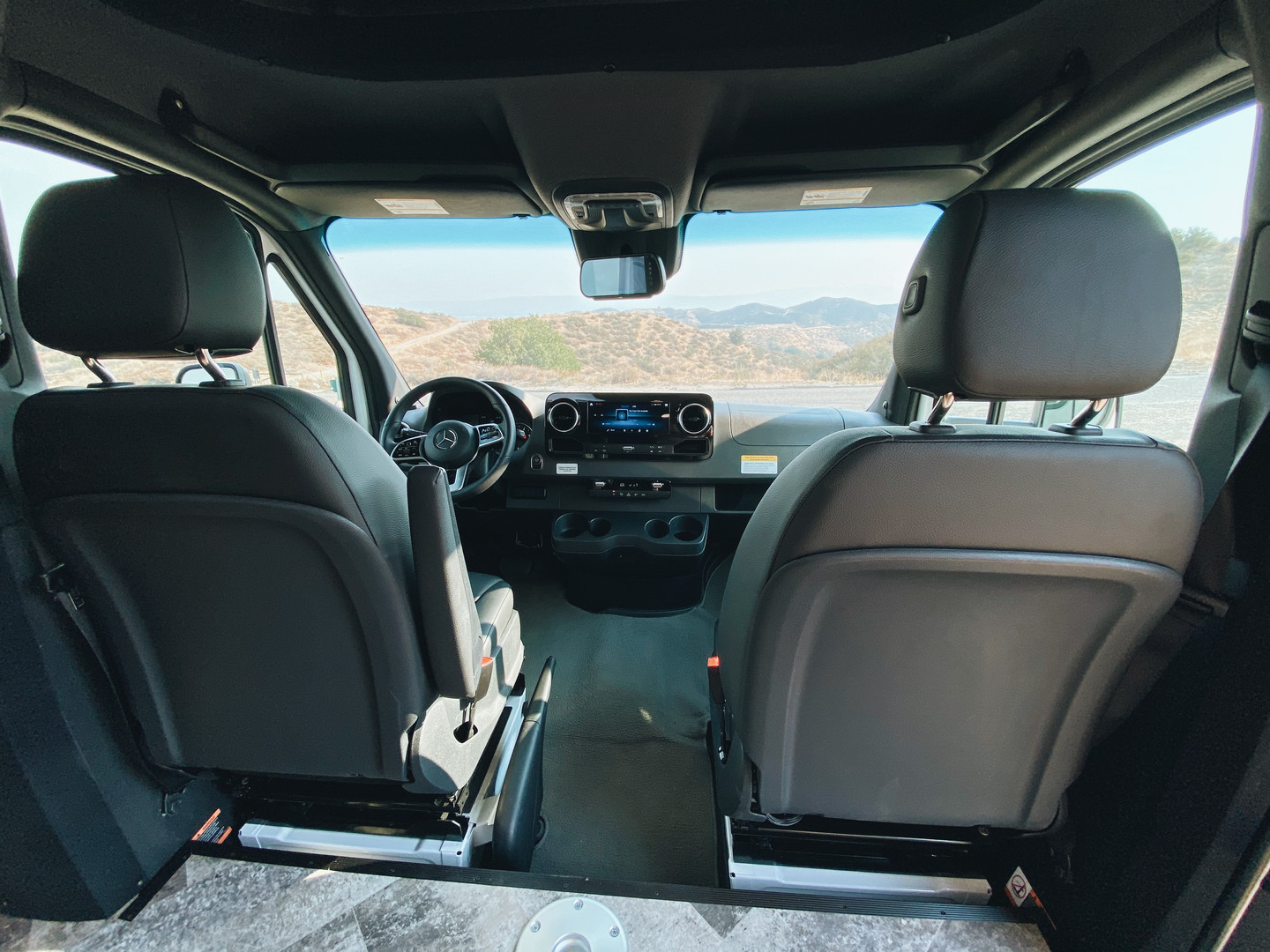 Front Dash View
