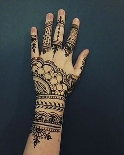 I infuse all my henna with lavender esse