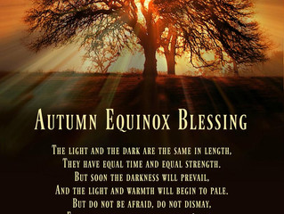 Blessed Autumn Equinox