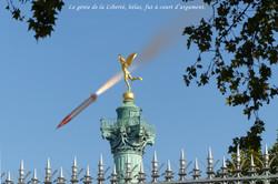 Dans le ciel de Paris (hypothèse n° 1) - 2020