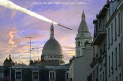 Dans le ciel de Paris (hypothèse n° 2) - 2020