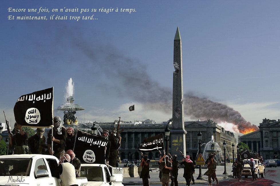 Daesh place de la Concorde