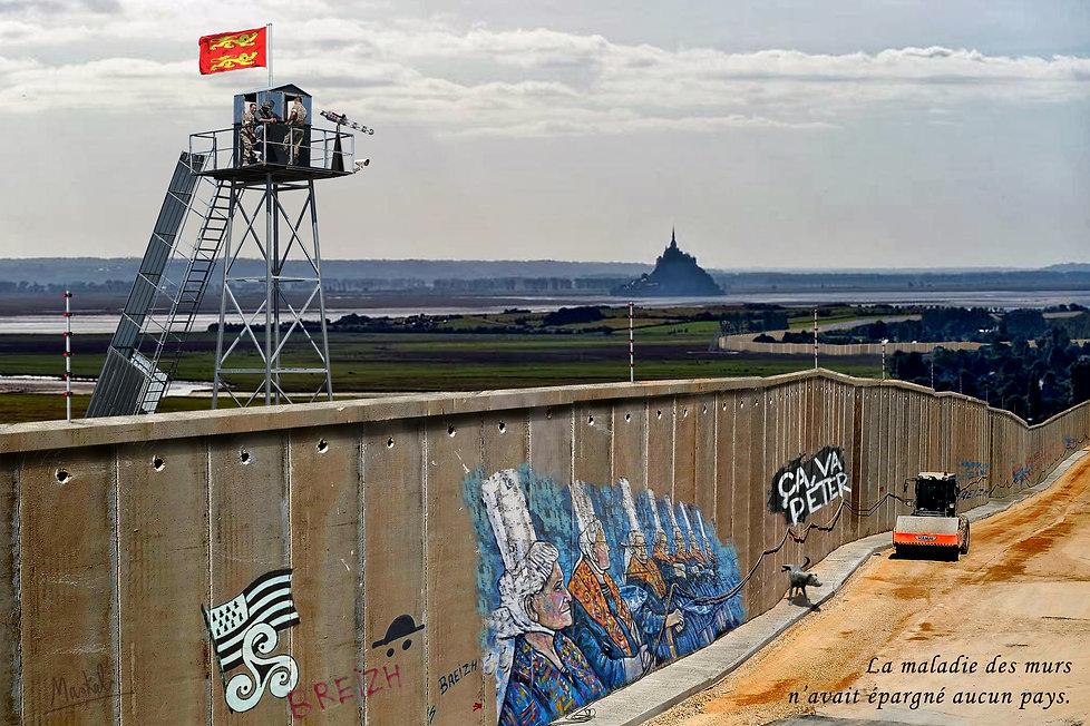 Mur mont saint michel