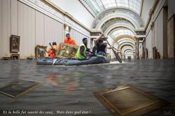 Un sauvetage au Louvre (2018)