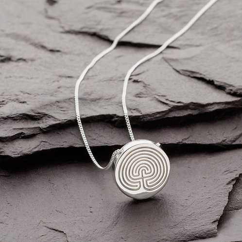 SEVEN TIER LABYRINTH NECKLACE