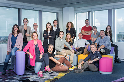 A lot of new faces at Proximus Skynet Advertising
