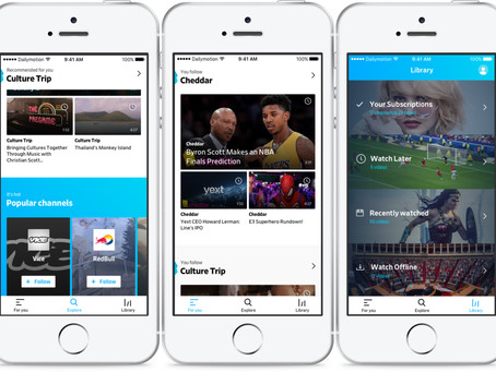 The new Dailymotion is now available in Belgium