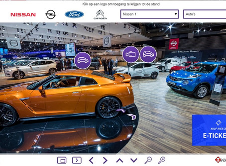 Proximus Skynet Advertising organizes the virtual tour of the Brussels Motor Show