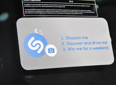 smart premieres with Shazam at the Brussels Motor Show