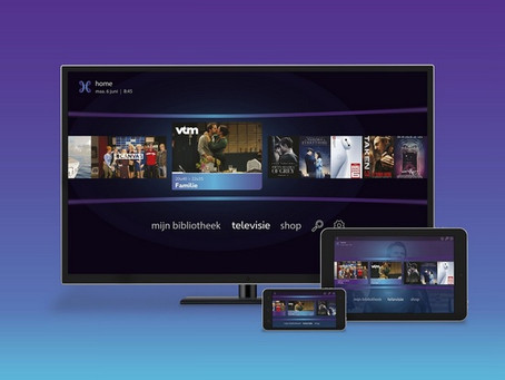 New web interface for Proximus TV