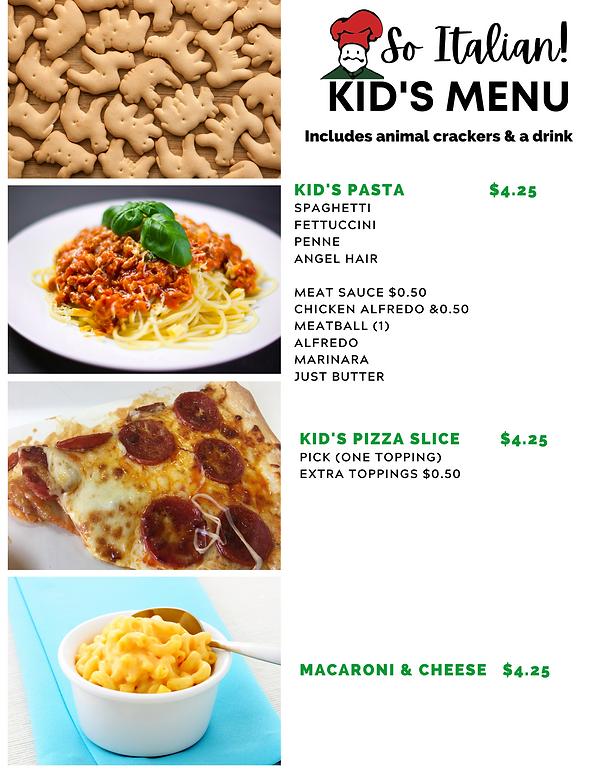 So Italian! Kid's Menu .png
