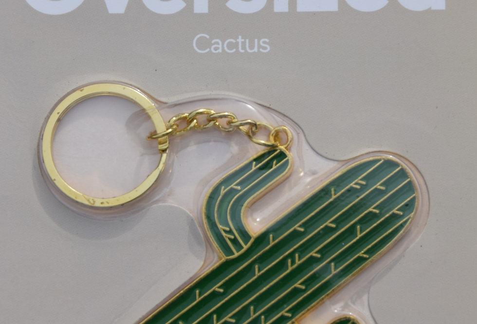Cactus keyring