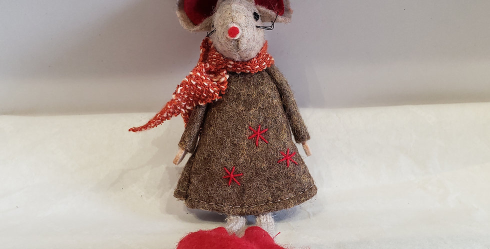 Brown Dress Mouse