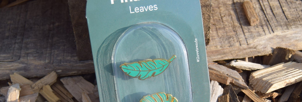Pinaholic Leaf Pins by DOIY