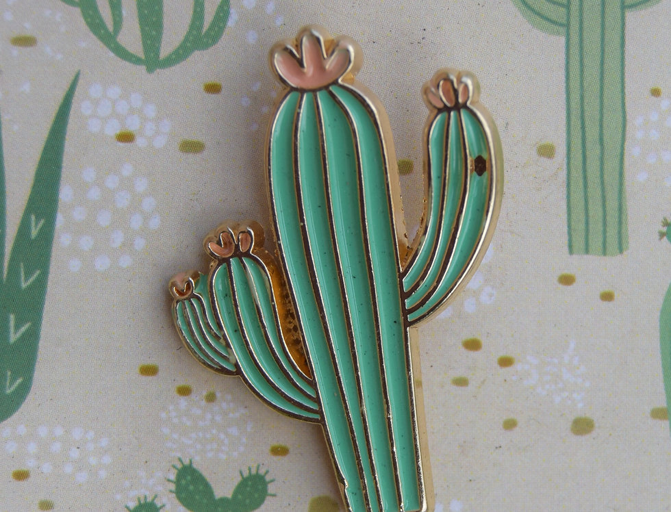 Cactus Pin by Timi of Sweden
