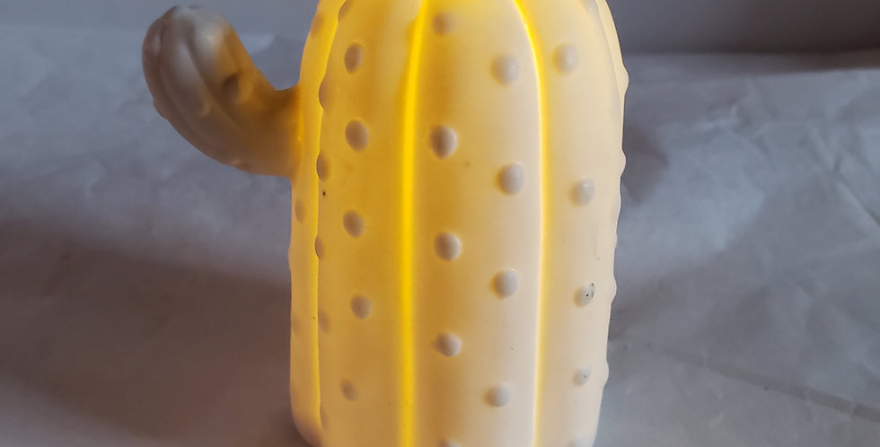 Porcelain LED Cactus 2
