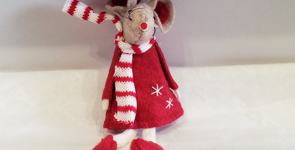 Red dress Mouse