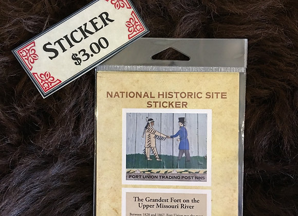 Historic National Site Sticker