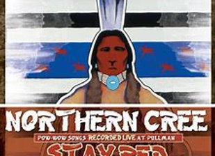 Northern Cree: Pow-wow Songs Recorded at Pullman, Stay Red - CD