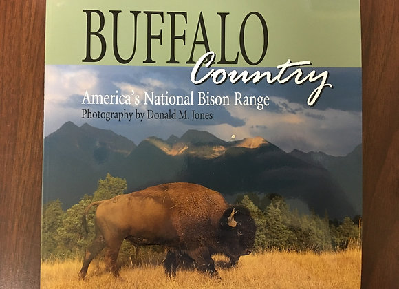 Buffalo Country by Donald M. Jones