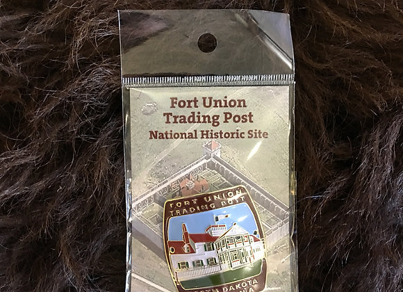 Fort Union Hiking Stick Medallion