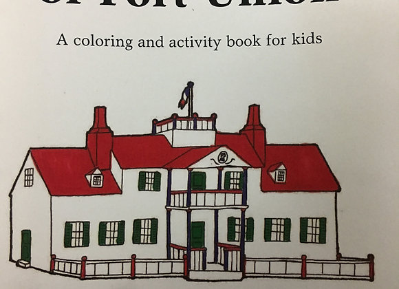 A to Z's of Fort Union (A coloring and activity book for kids) by Briana Lassey