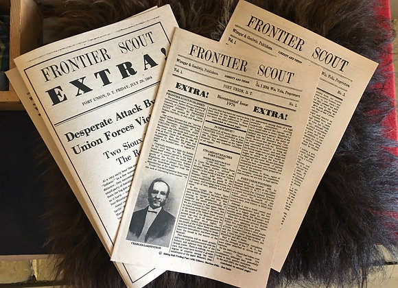 Frontier Scout Newspaper